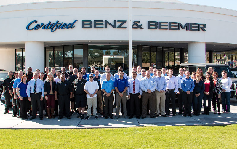 Meet Our Staff At Certified Benz Beemer